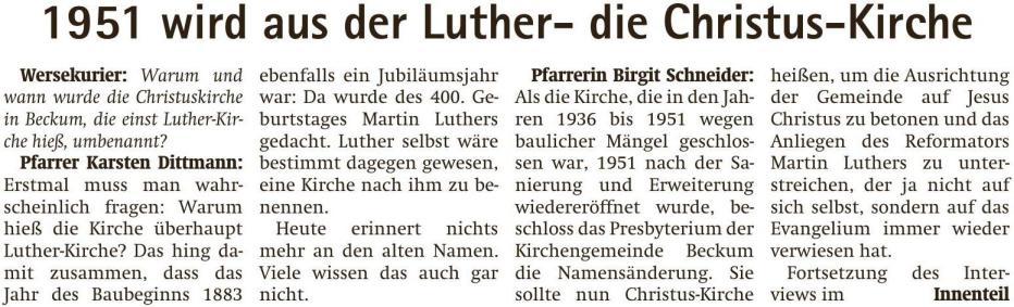 170405b Lutherjubiläum Wersekurier