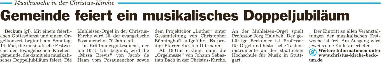 170512 Musikalische Festwoche
