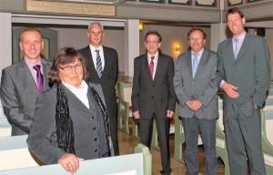 Der vom Presbyterium gewählte Stiftungsrat besteht aus den folgenden sechs Mitgliedern: Peter Grafenburg, Ingrid Gerke, Volker Kugel (ehem.), Dieter Müller, Ulrich Hillringhaus und Dirk Komitsch. Für Volker Kugel ist Karl-Uwe Strothmann hinzugekommen.