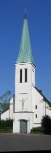 Die Christus-Kirche zur 125-Jahr-Feier (2009)