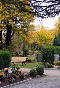 Der Evangelische Friedhof an der Hammer Straße